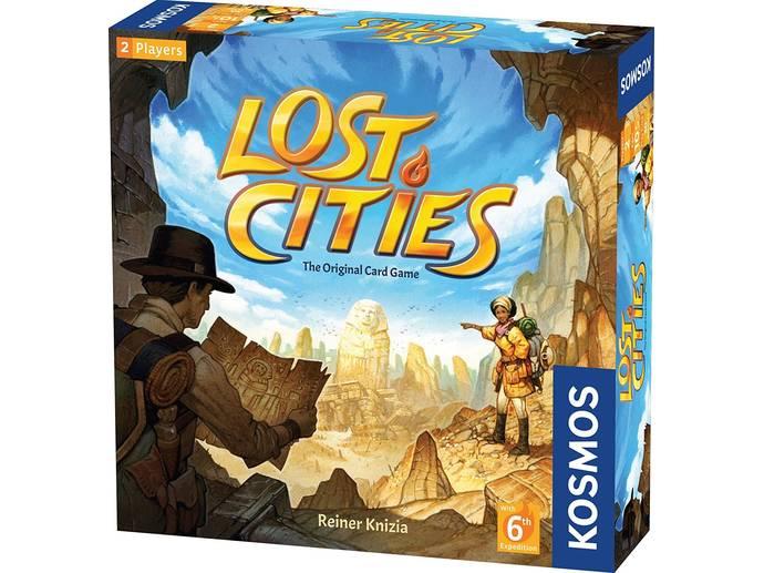 ロストシティ カードゲーム