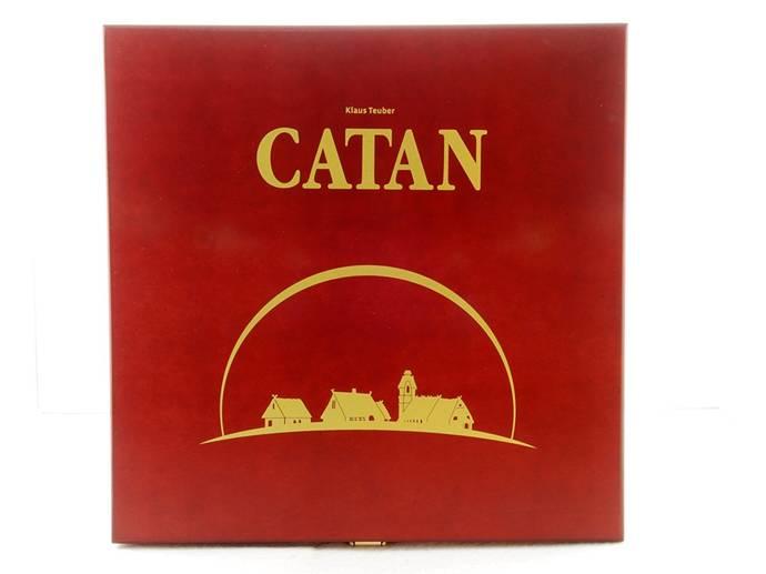 カタンの開拓者:15周年記念版(The Settlers of Catan: 15th Anniversary Wood Edition)