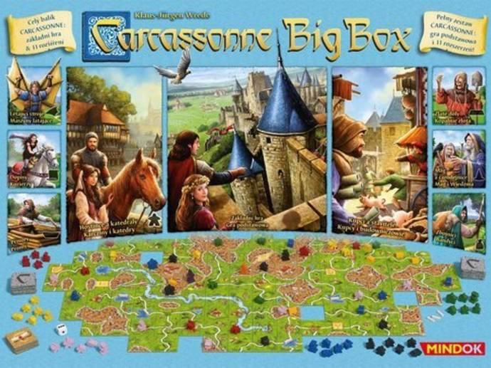 カルカソンヌ:ビッグボックス6(Carcassonne Big Box 6)