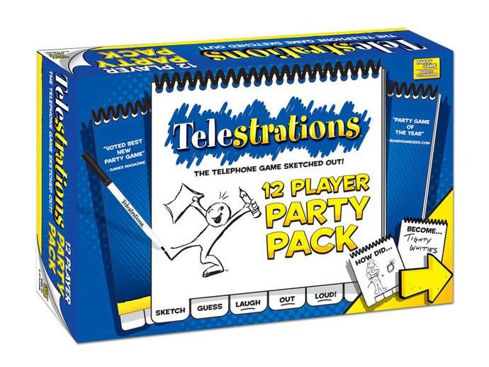 テレストレーション:12人用パーティーパック(Telestrations: 12 Player Party Pack)