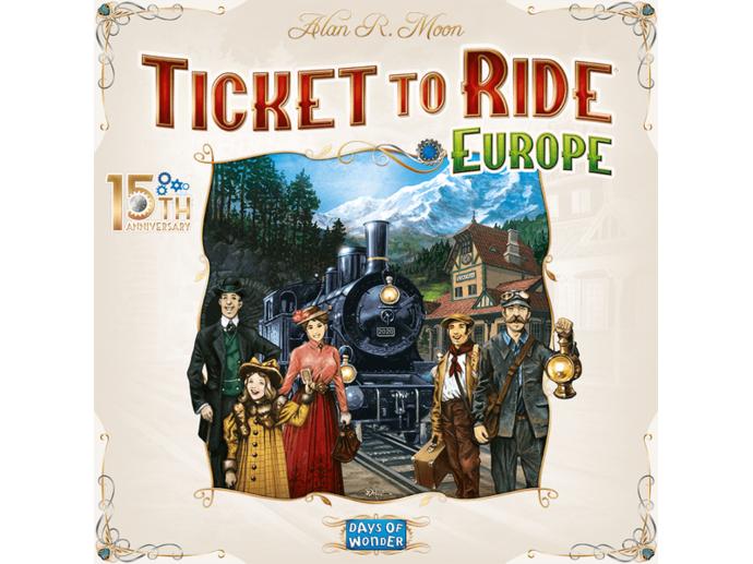 チケット・トゥ・ライド:ヨーロッパ 15周年記念版(Ticket to Ride: Europe – 15th Anniversary)