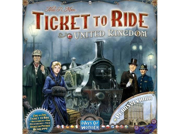 チケットトゥライド:イギリス&ペンシルバニア(Ticket to Ride: Map Collection Volume 5 United Kingdom and Pennsylvania)