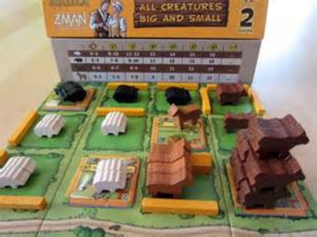 アグリコラ(2人用):牧場の動物たち(Agricola: All Creatures Big and Small)の画像 #4232 ボドゲーマ運営事務局さん