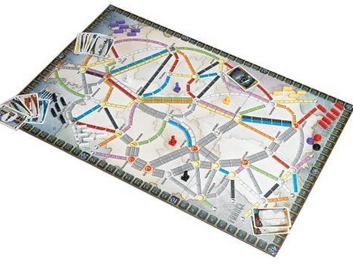チケットトゥライド:メルクリン(Ticket to Ride: Maerklin)の画像 #31833 ボドゲーマ運営事務局さん