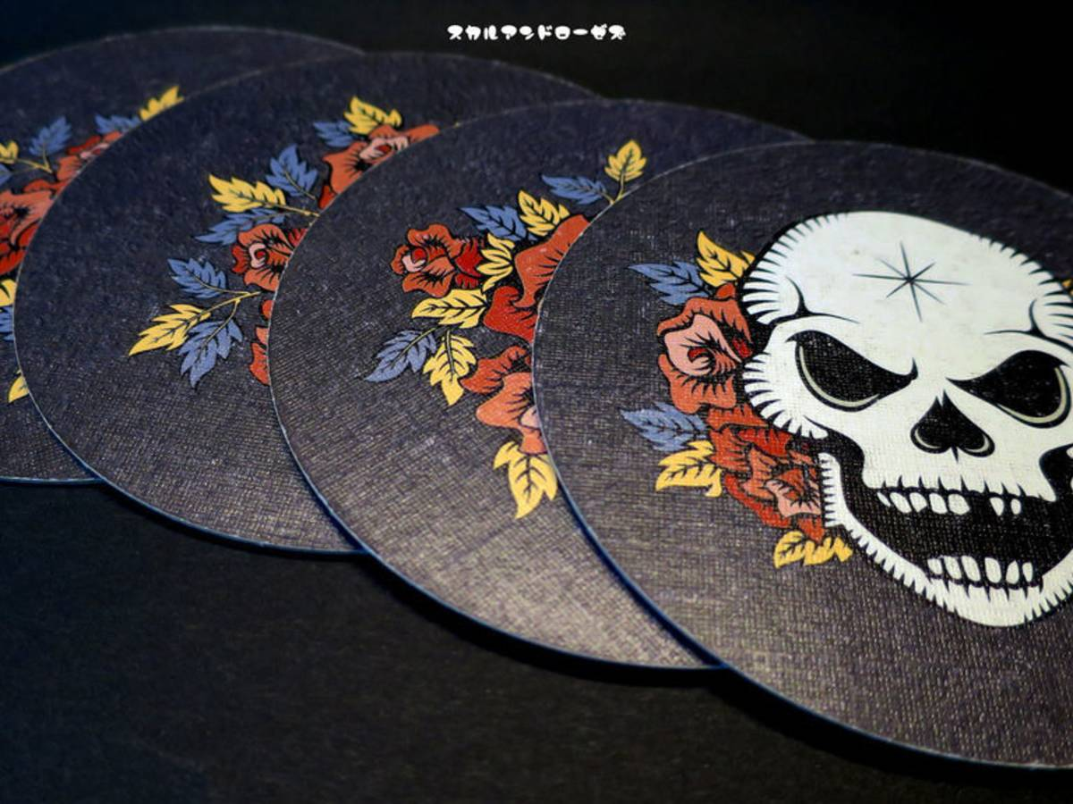髑髏と薔薇 / スカル(Skull & Roses)の画像 #67983 のっちさん