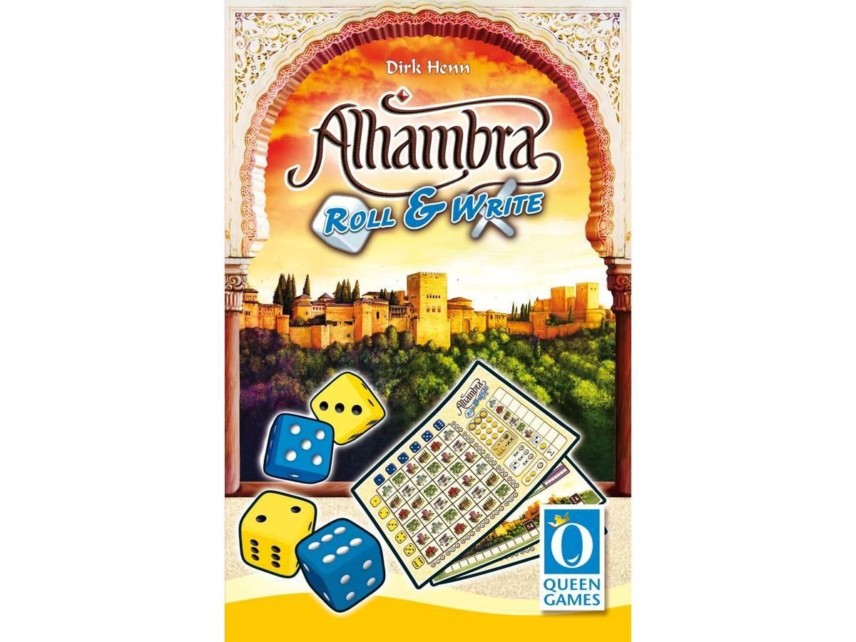 アルハンブラ:ロール&ライト(Alhambra: Roll & Write)の画像 #71876 まつながさん