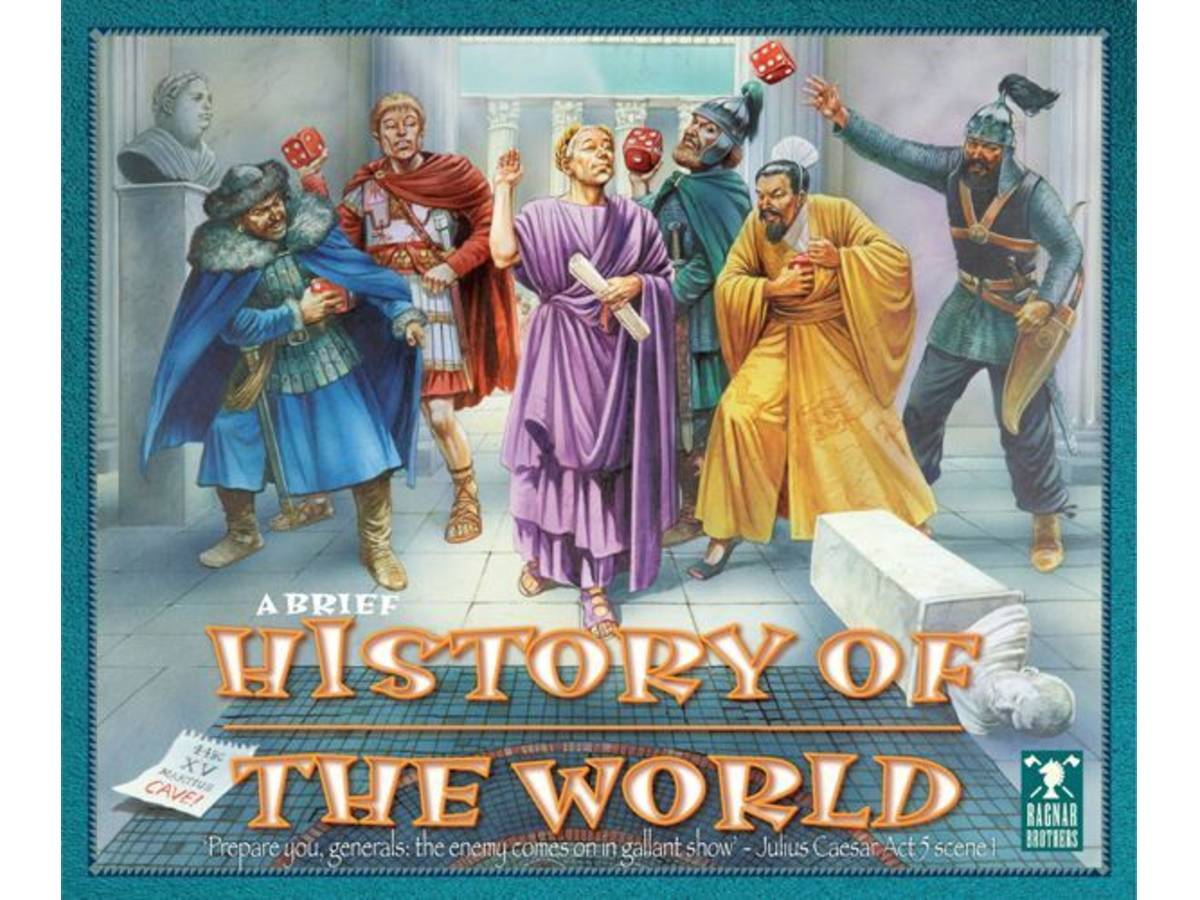 ブリーフ・ヒストリー・オブ・ザ・ワールド(A BRIEF HISTORY OF THE WORLD)の画像 #37401 ボドゲーマ運営事務局さん