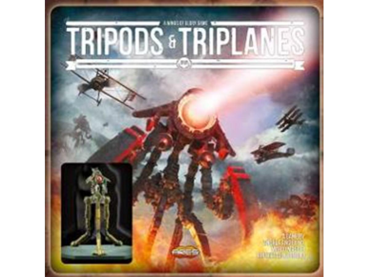 ウィング・オブ・グローリー:トライポッド&トライプレイン(Wings of Glory: Tripods & Triplanes)の画像 #41723 まつながさん