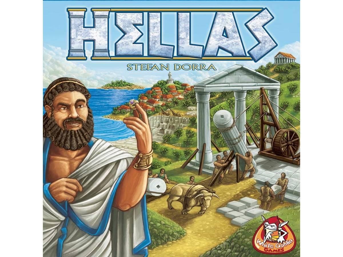 ヘラス(Hellas)の画像 #35012 ボドゲーマ運営事務局さん