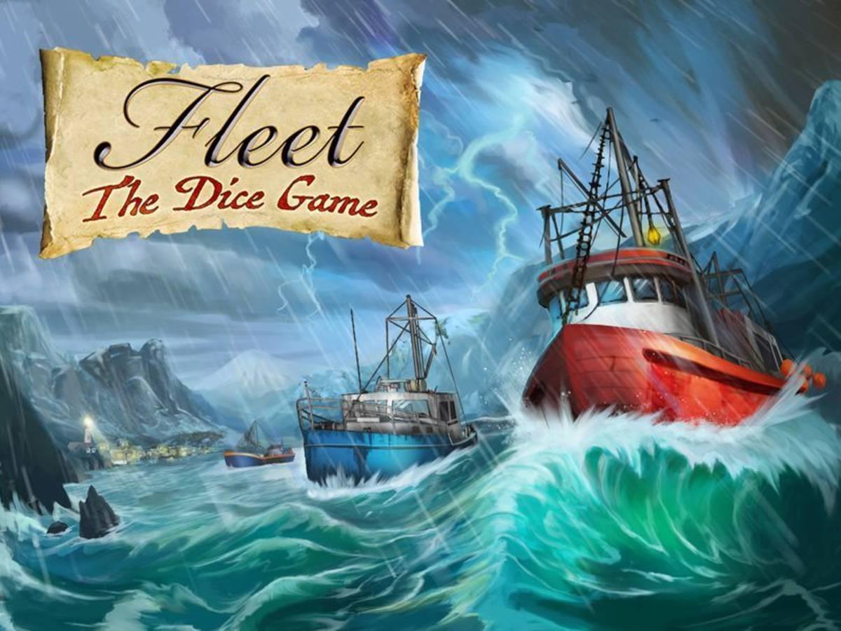 フリート:ダイスゲーム(Fleet: The Dice Game)の画像 #64182 まつながさん