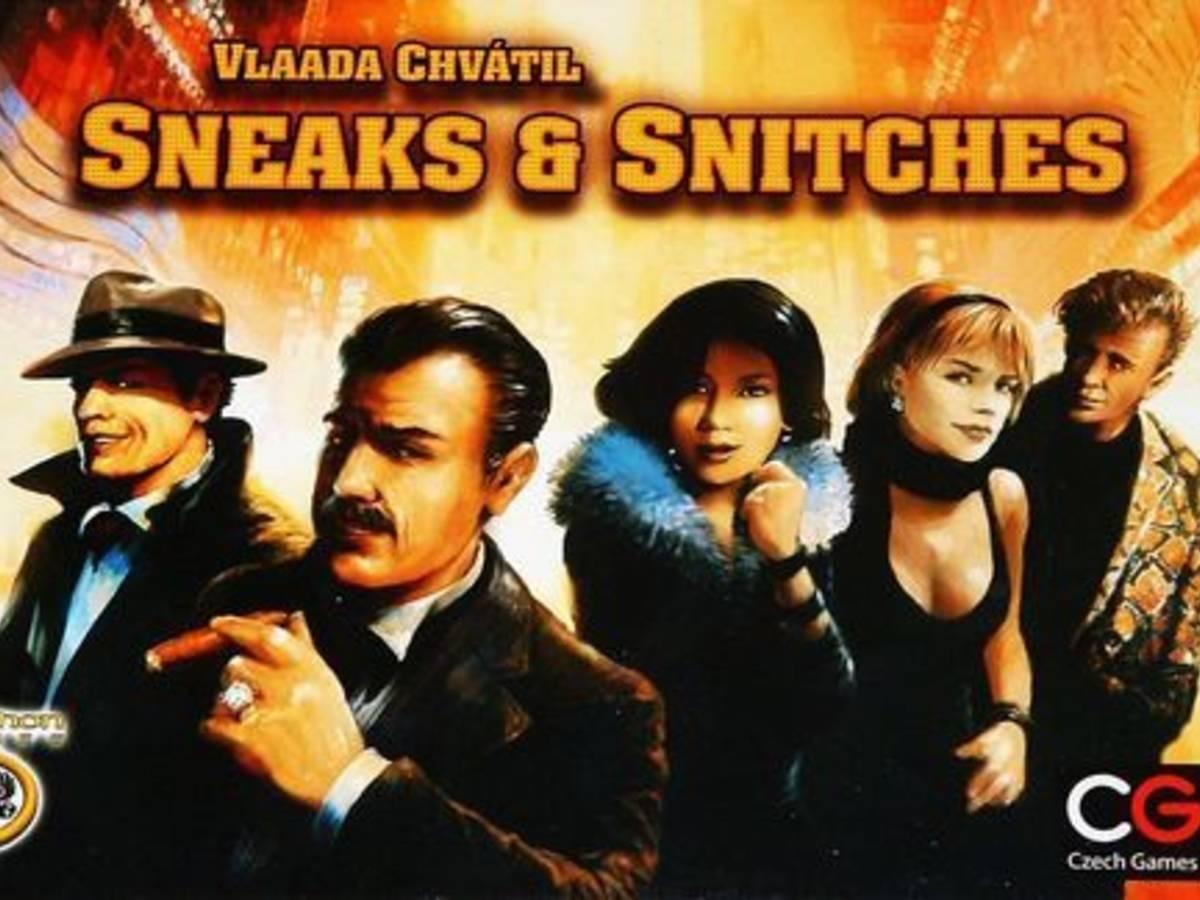 鼠と密告者(Sneaks & Snitches)の画像 #33956 ドイツゲーム喫茶 B-CAFEさん