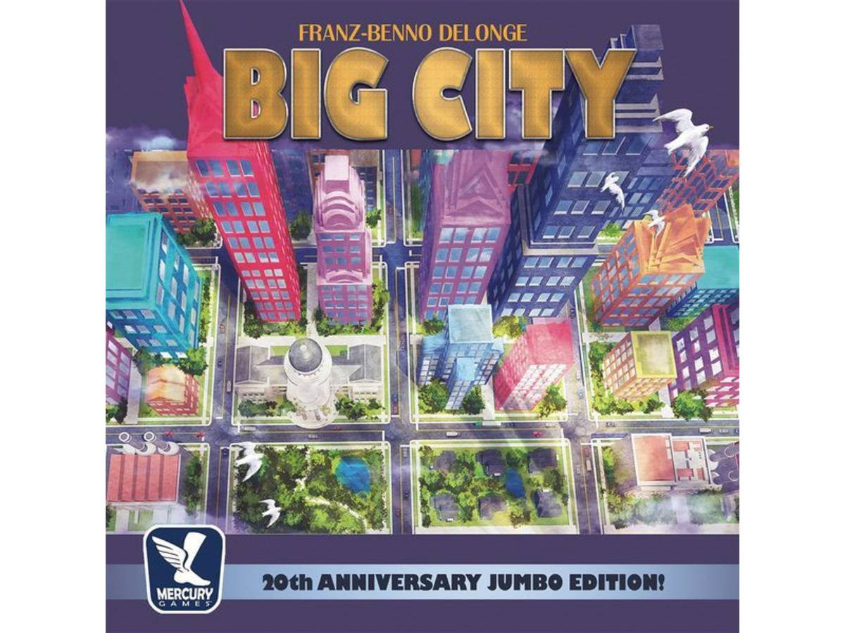 ビッグシティ:20 周年記念版(Big City: 20th Anniversary Jumbo Edition!)の画像 #54292 らめるんさん