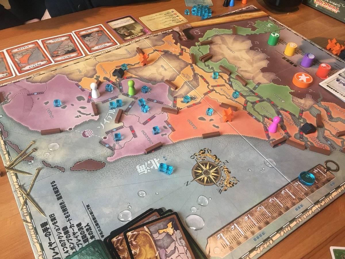パンデミック:ライジング・タイド(Pandemic: Rising Tide)の画像 #46968 めろじゅさん