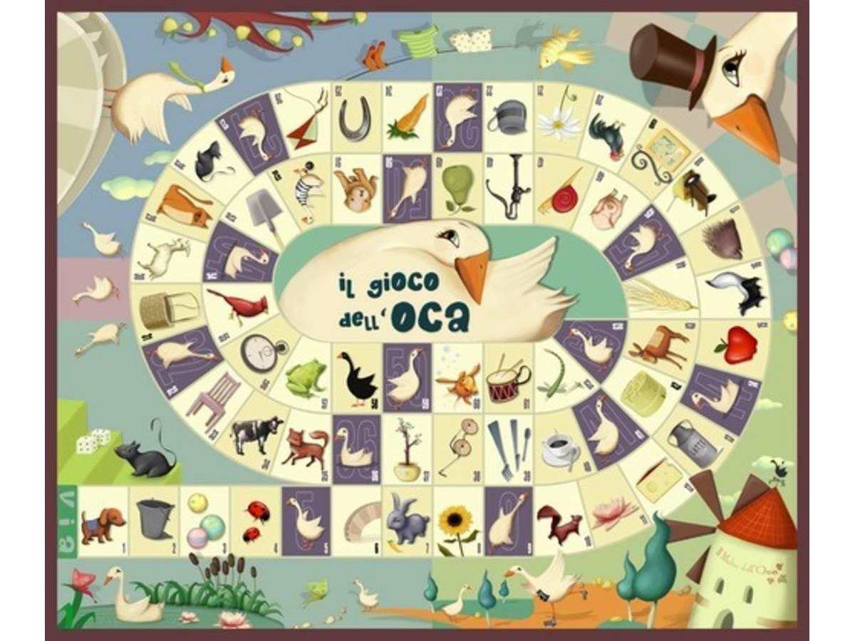 鵞鳥のゲーム(Jeu de l'oie / The Game of Goose)の画像 #31946 ボドゲーマ運営事務局さん