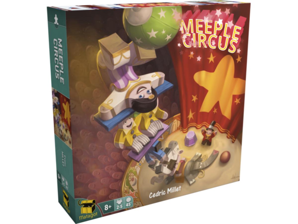 ミープルサーカス(Meeple Circus)の画像 #39838 まつながさん
