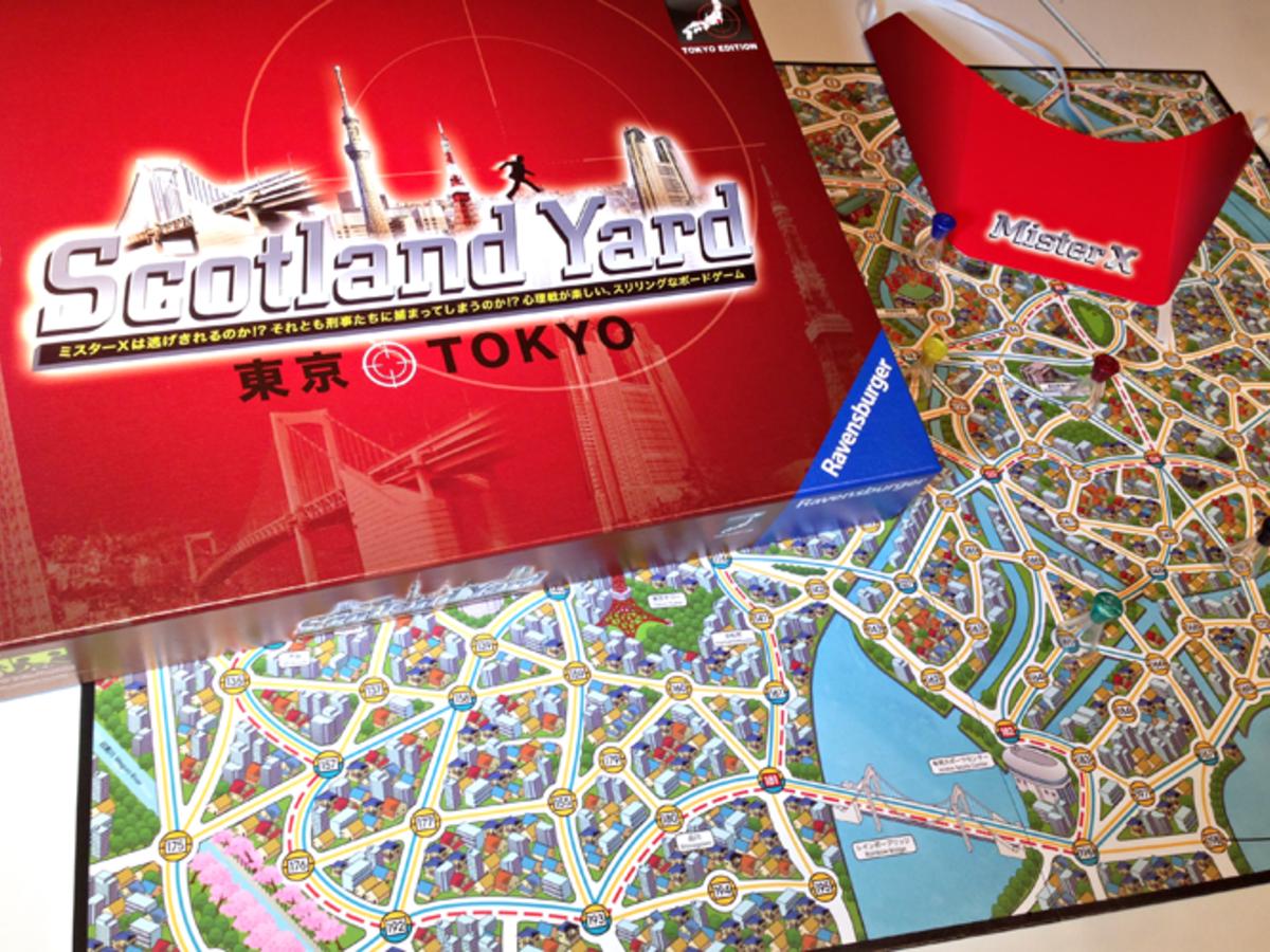 スコットランドヤード:東京(Scotland Yard: Tokyo)の画像 #29726 ぽっくりさん