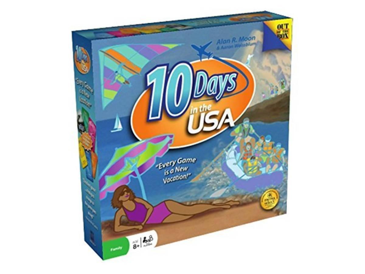 10 デイズ・イン・ザ・USA(10 Days in the USA)の画像 #37011 ボドゲーマ運営事務局さん