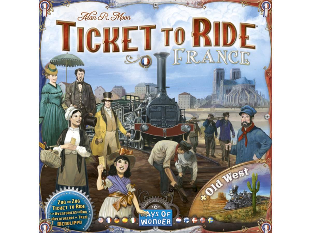 チケット・トゥ・ライド・マップコレクション6:フランス&オールドウェスト (Ticket to Ride Map Collection: Volume 6 – France & Old West)の画像 #39589 まつながさん