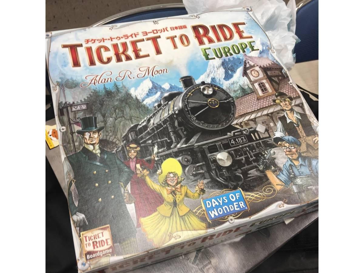 チケットトゥライド:ヨーロッパ(Ticket to Ride: Europe)の画像 #71269 mkpp @UPGS:Sさん