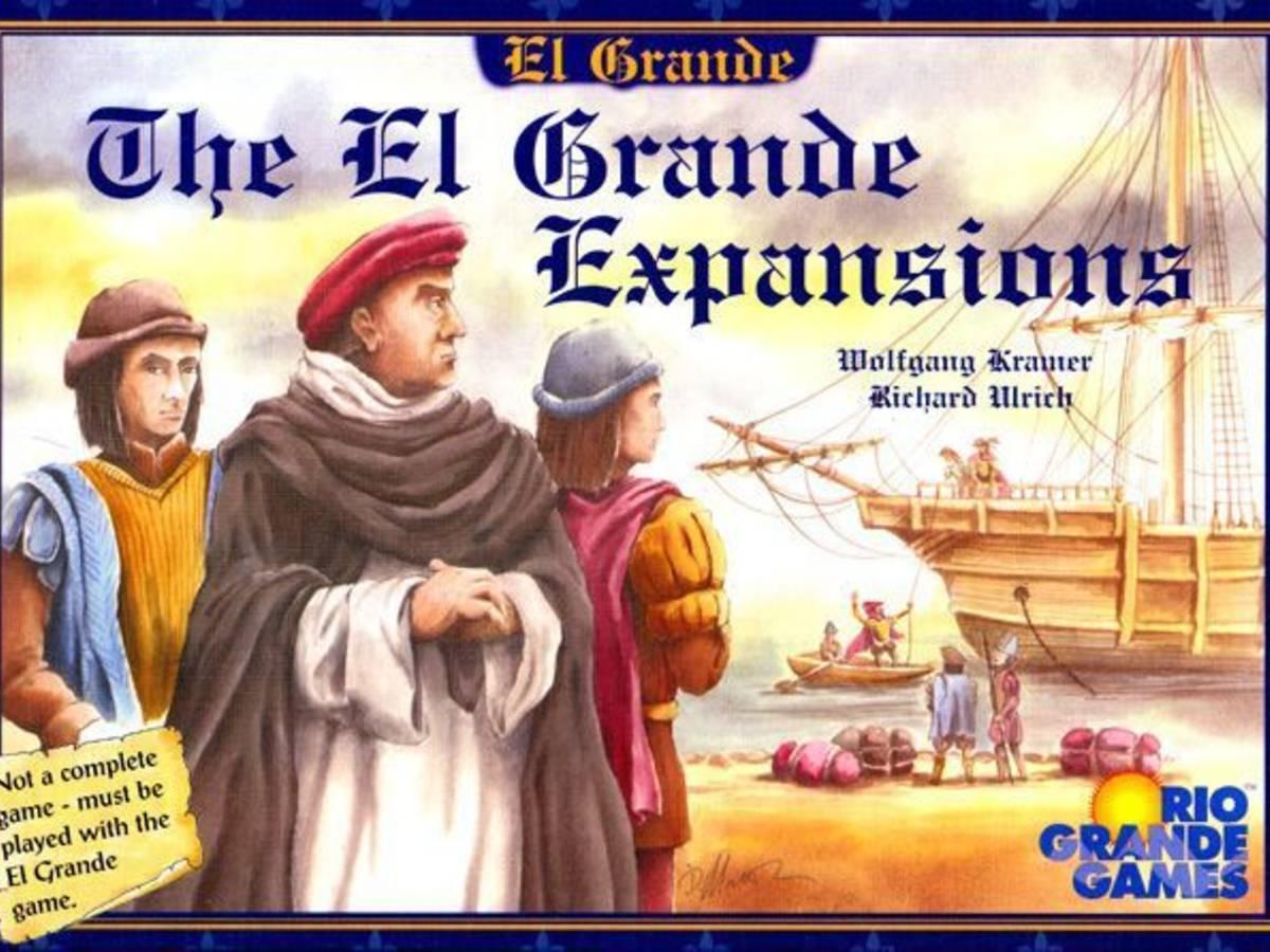 エルグランデ:エクスパンション(The El Grande Expansions)の画像 #46502 まつながさん