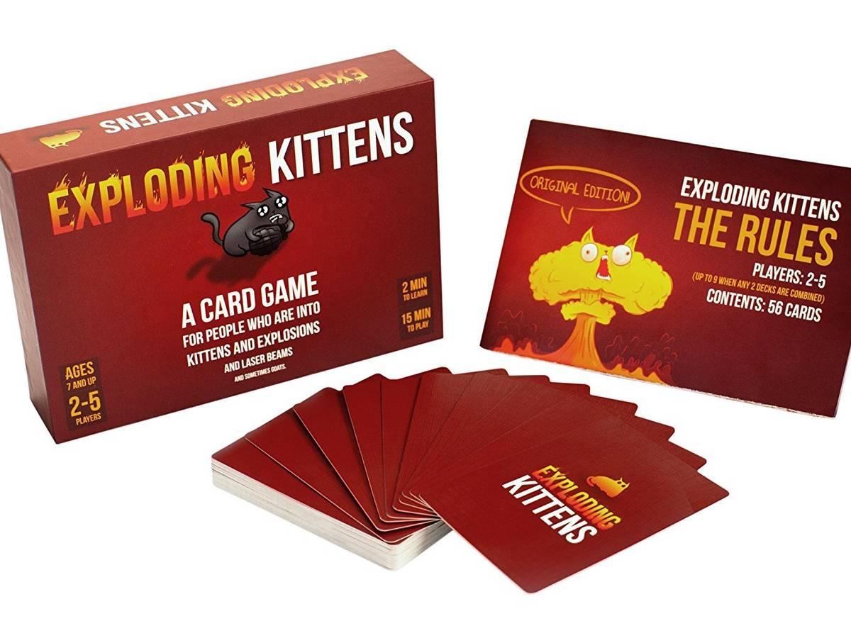 こねこばくはつ(Exploding Kittens)の画像 #34967 ボドゲーマ運営事務局さん