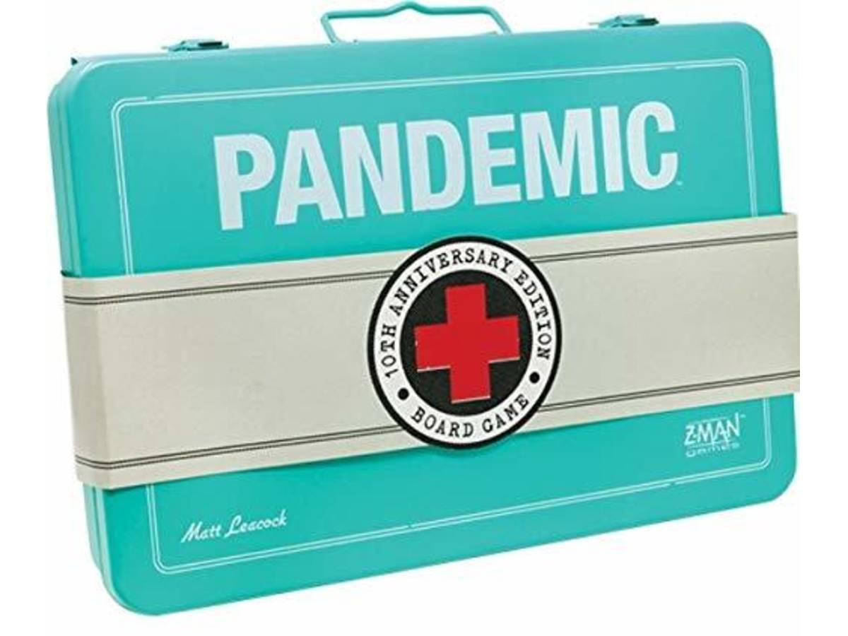 パンデミック:10周年記念版(Pandemic 10th Anniversary Edition)の画像 #48635 まつながさん