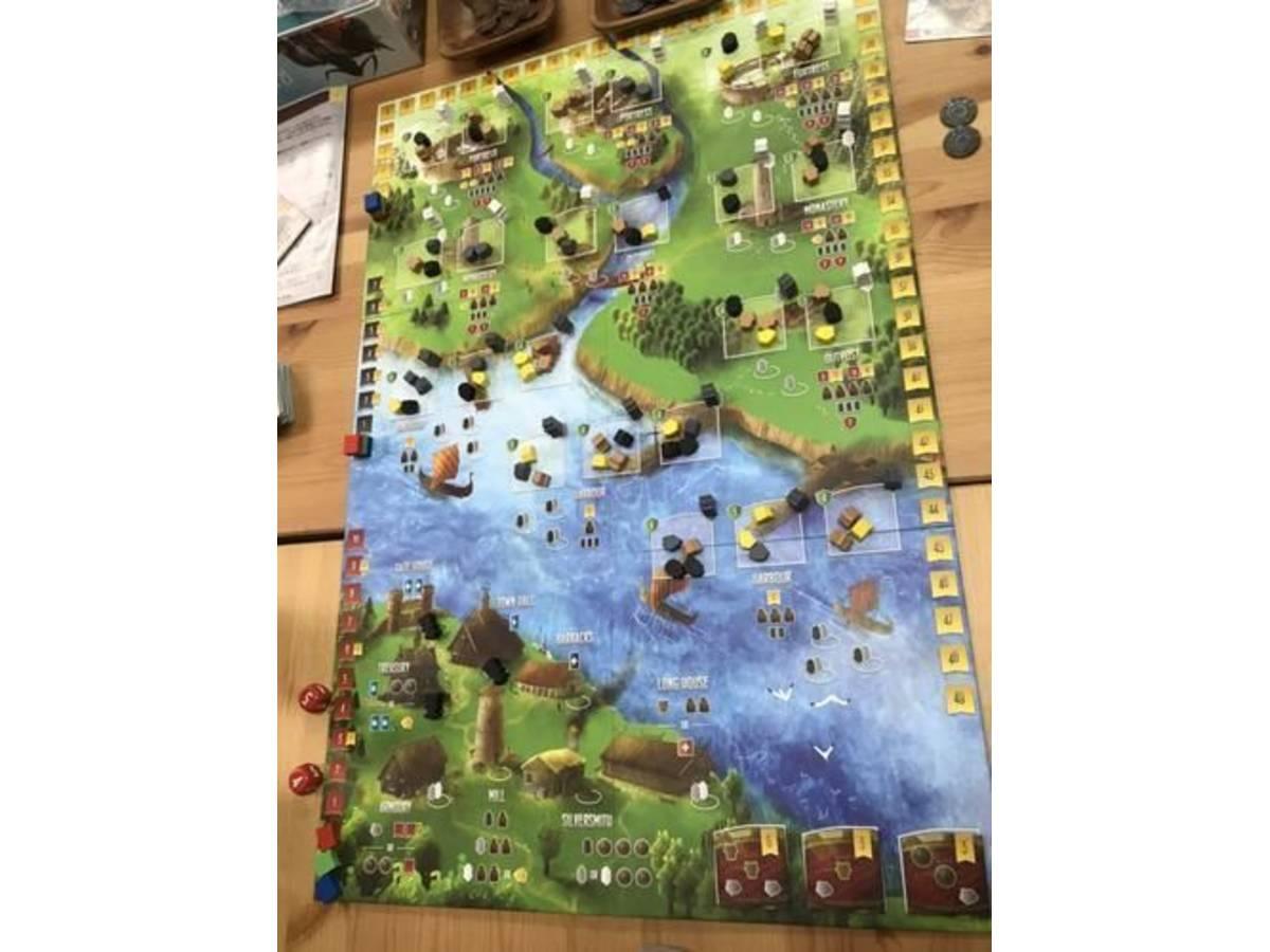 北海の侵略者(Raiders of the North Sea)の画像 #62728 ボードゲーム好き夫婦の楽しい毎日さん