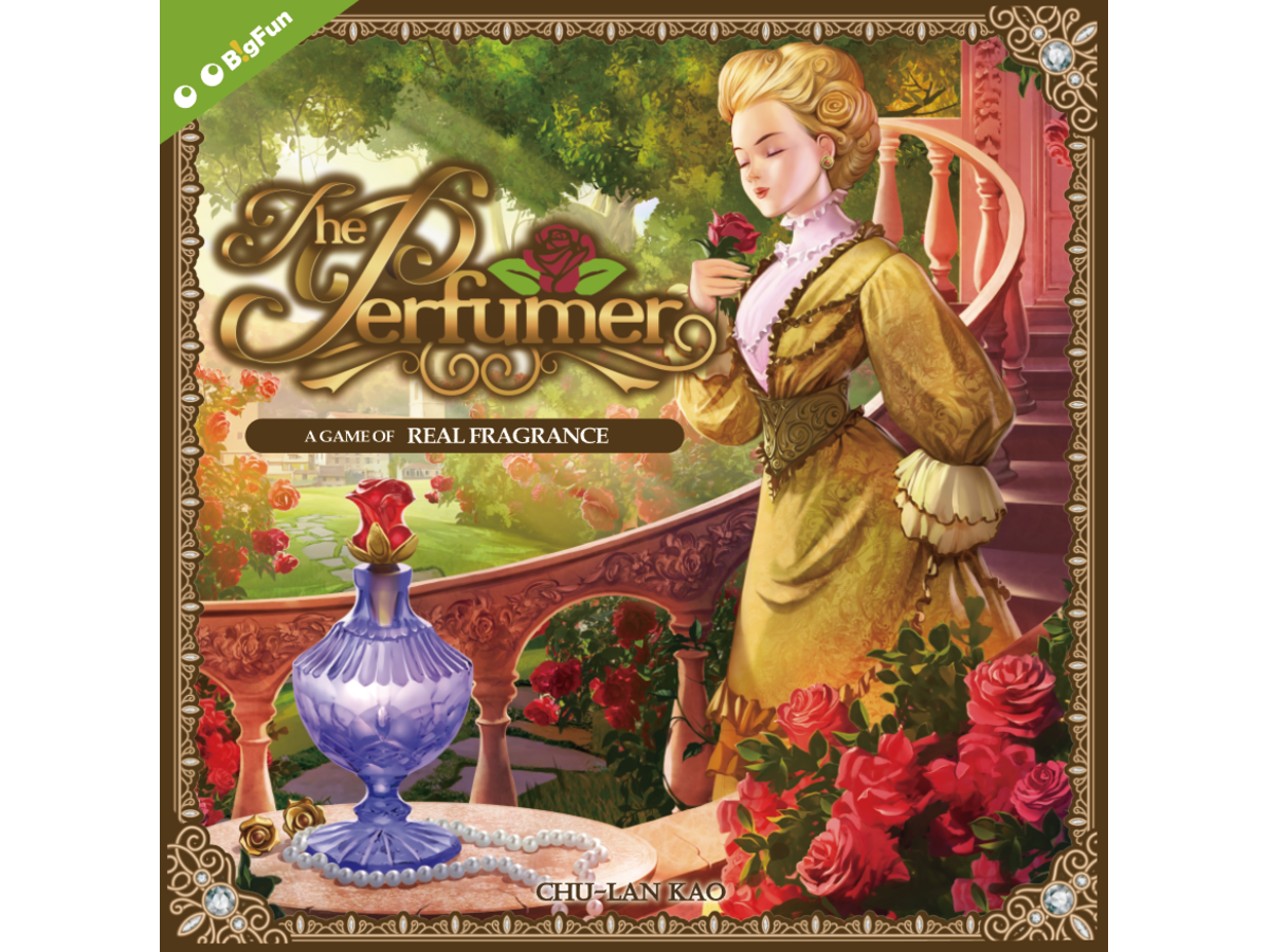 パフューマー(The Perfumer)の画像 #34370 ボドゲーマ運営事務局さん