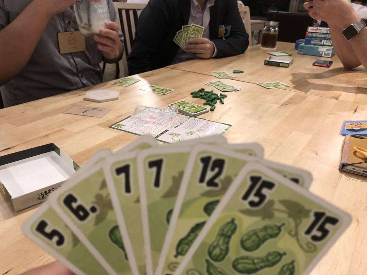 5本のきゅうり(Five Cucumbers)の画像 #47431 Nobuaki Katouさん