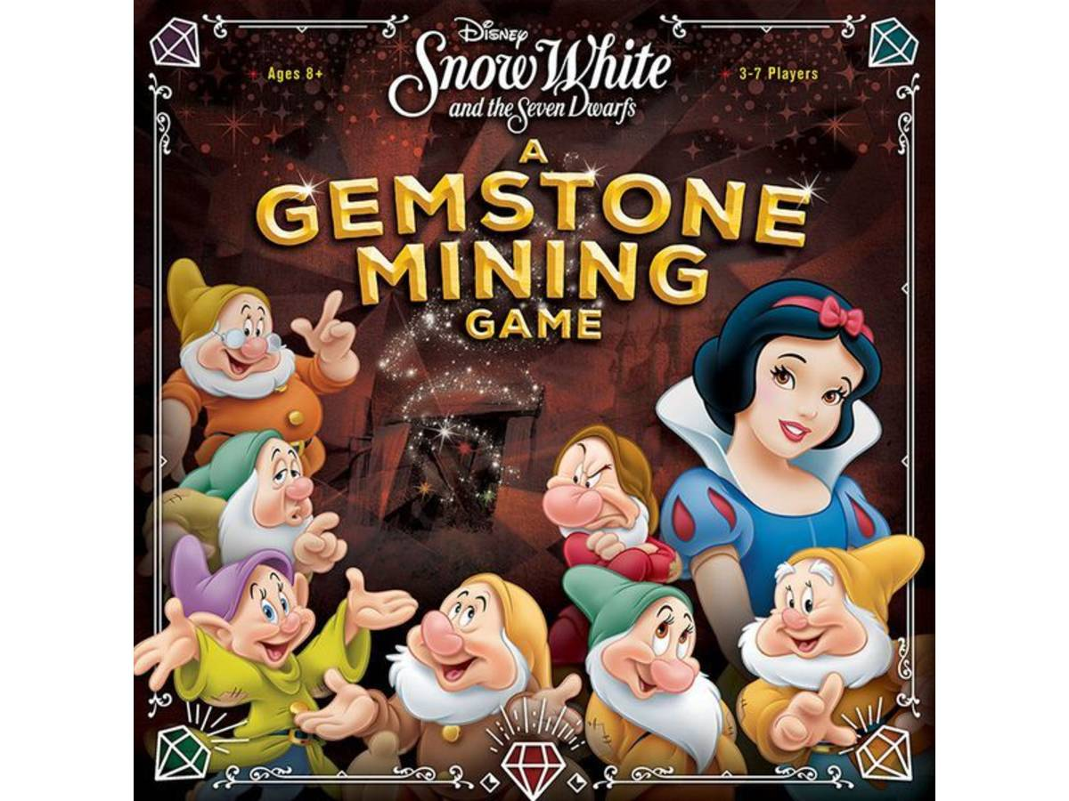 白雪姫と七人の小人:ジェムストーン・マイニング・ゲーム(Snow White and the Seven Dwarfs: A Gemstone Mining Game)の画像 #46498 まつながさん