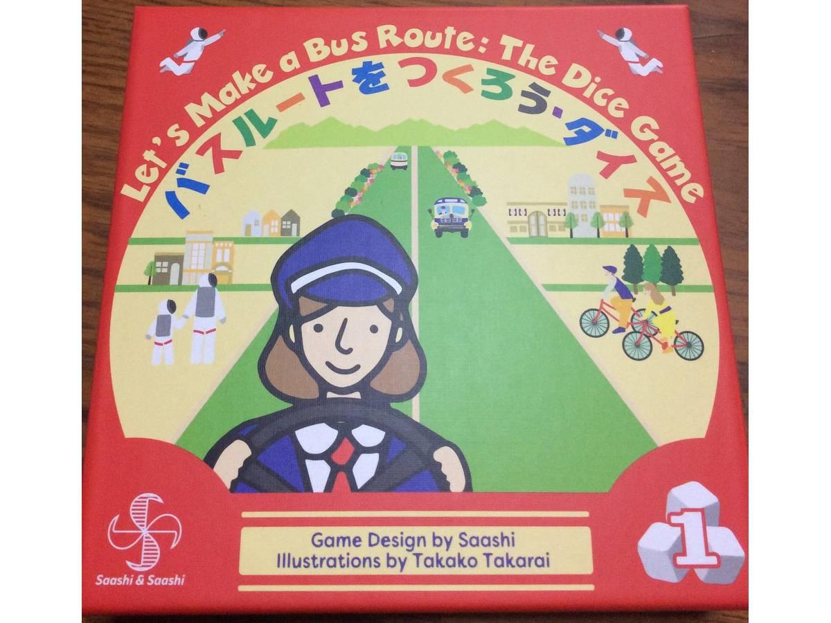 バスルートをつくろう・ダイス(Let's Make a Bus Route Dice)の画像 #71113 たすくさん