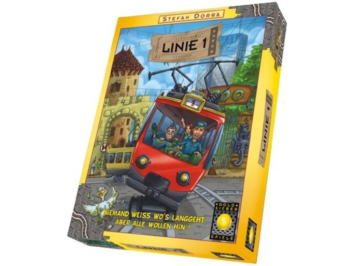 1号線で行こう(新版)(LINIE 1)の画像 #35975 ボドゲーマ運営事務局さん