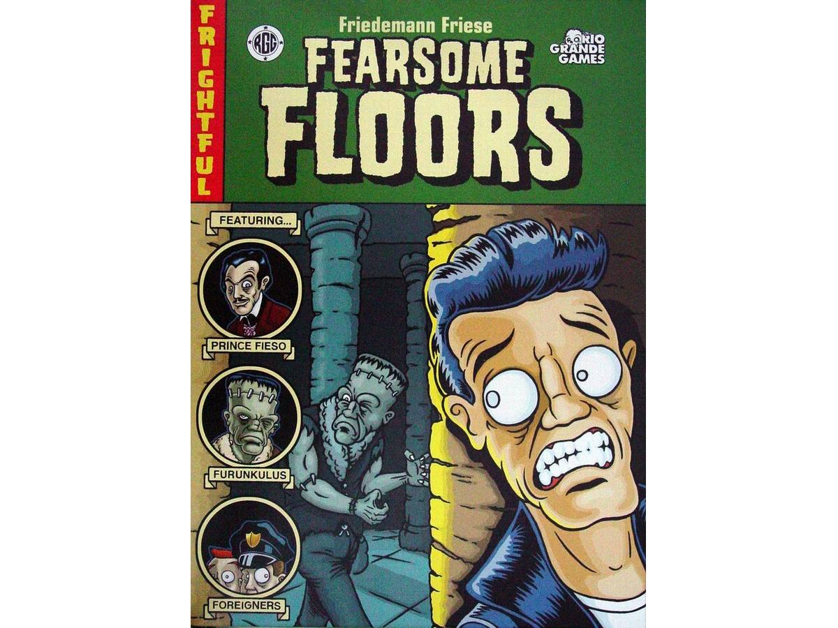 暗黒の大広間(Fearsome Floors)の画像 #32903 ボドゲーマ運営事務局さん