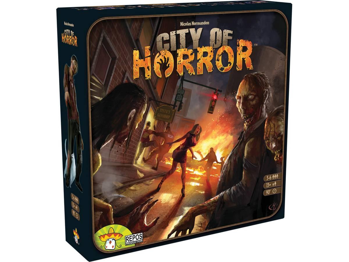 シティ・オブ・ホラー(City of Horror)の画像 #35282 ボドゲーマ運営事務局さん