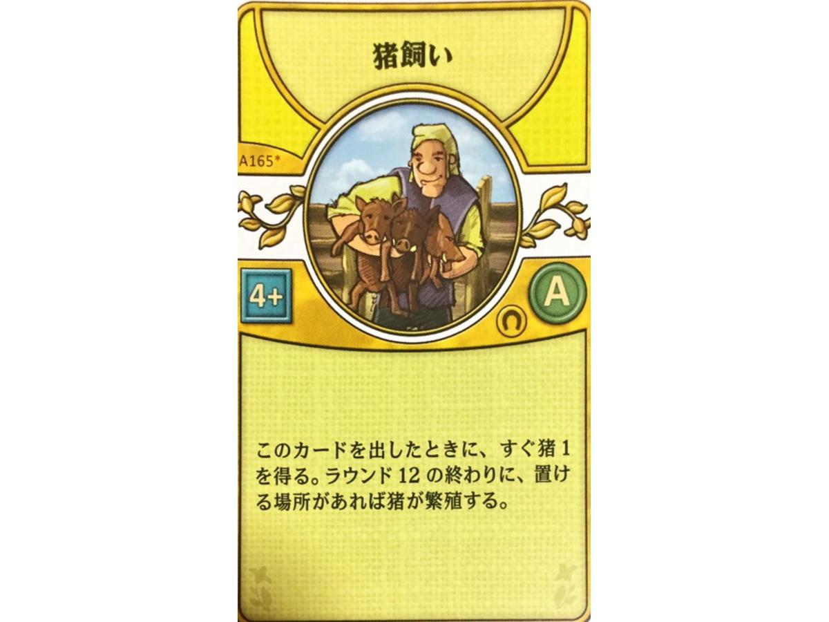 アグリコラ:リバイズドエディション(Agricola: Revised Edition)の画像 #45762 luckさん