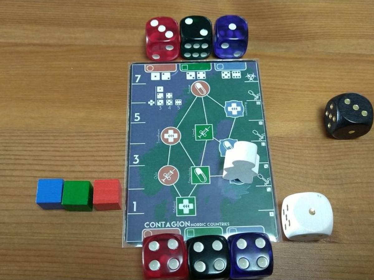 コンテイジョン(Contagion - A tiny game of pandemic proportions)の画像 #68022 Mercyさん