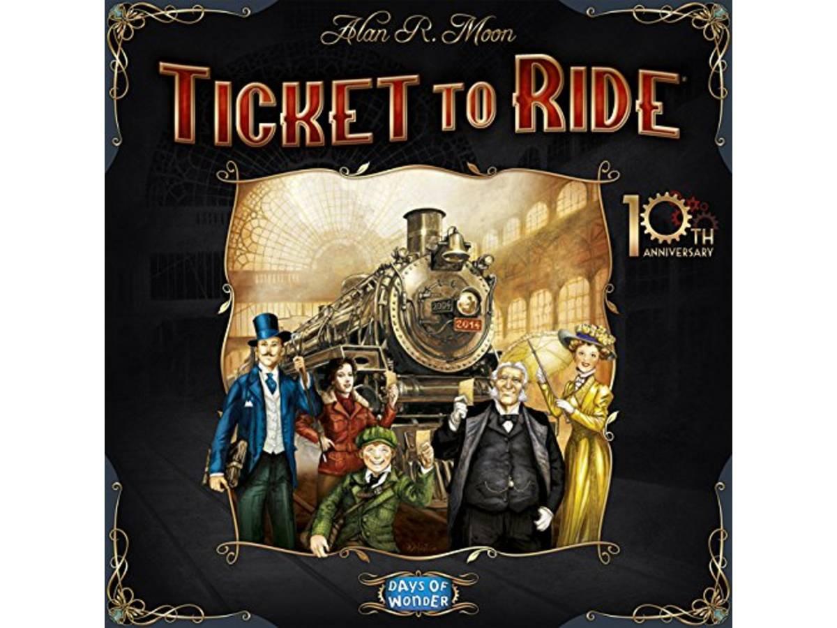 チケットトゥライド:10周年記念版 多言語版(Ticket to Ride: 10th Anniversary)の画像 #30943 ボドゲーマ運営事務局さん