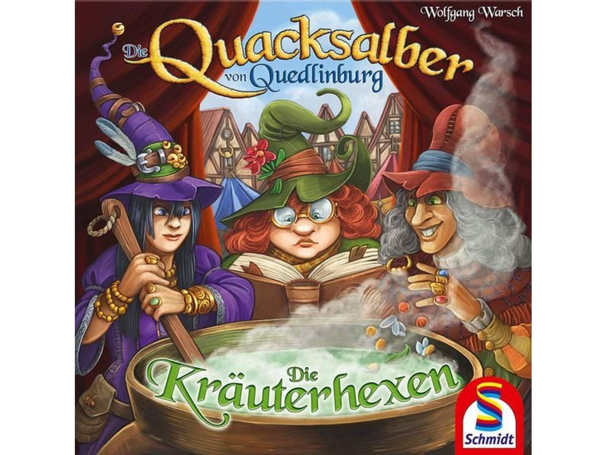クアックサルバー:薬草使いの魔女たち(拡張)(Die Quacksalber von Quedlinburg: Die Kräuterhexen)の画像 #49650 まつながさん