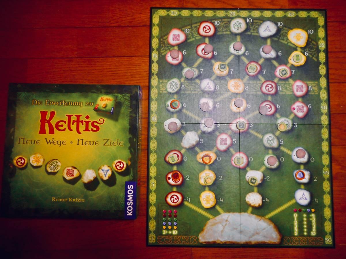 ケルト:追加ボード(Keltis: Neue Wege, Neue Ziele)の画像 #64532 熊谷 和史さん