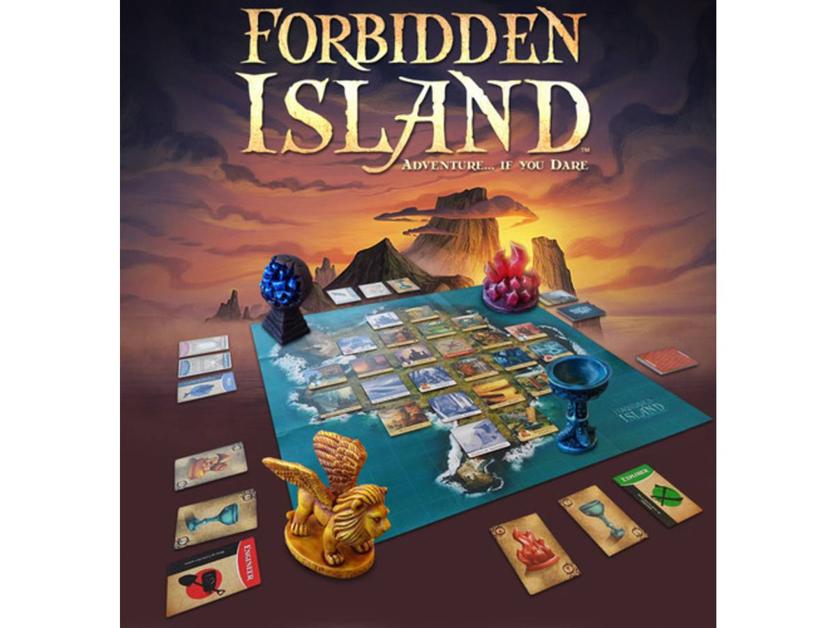 禁断の島(Forbidden Island)の画像 #39848 Bluebearさん