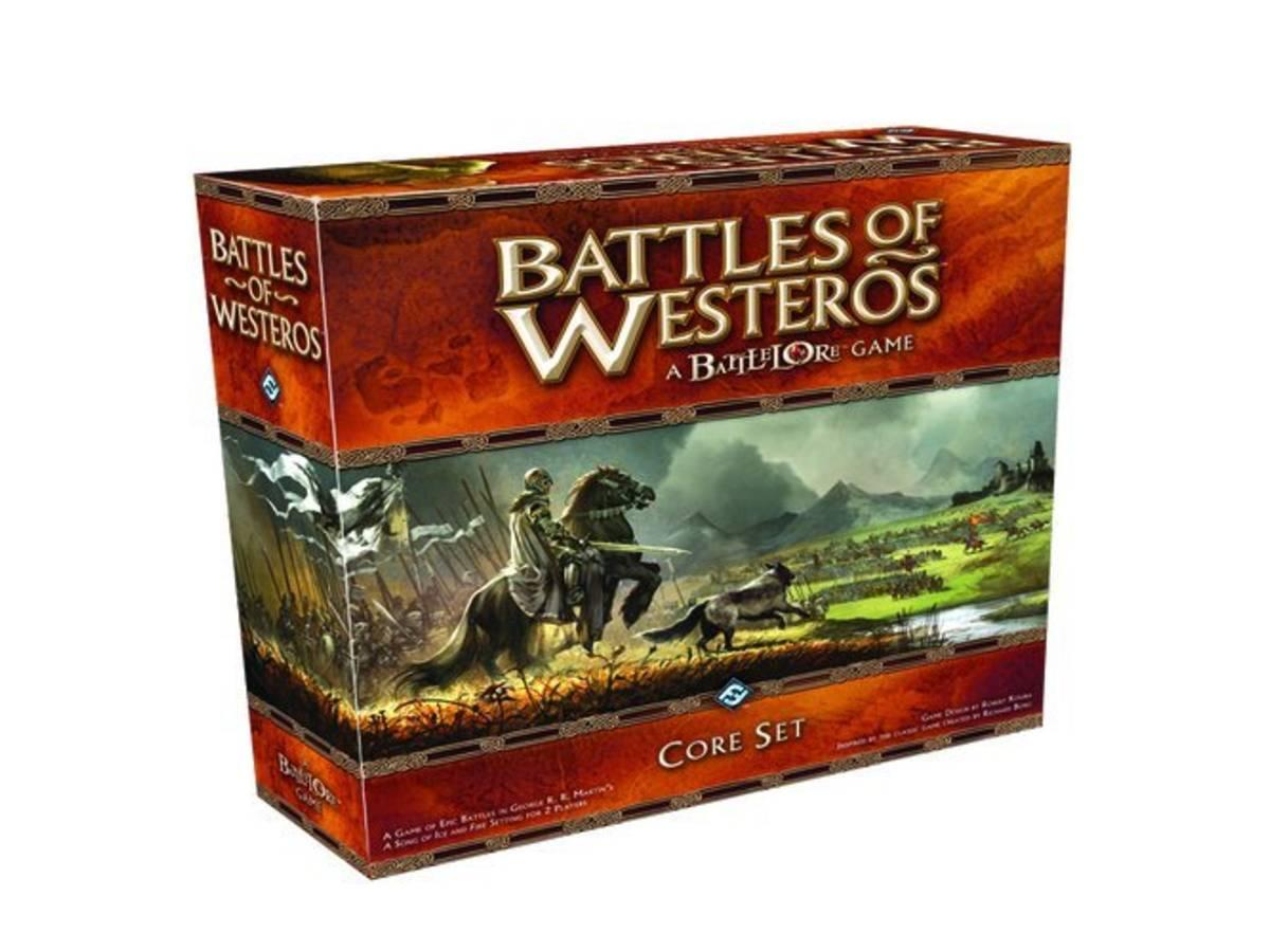 ウェスタロスの戦い(Battles of Westeros)の画像 #35560 ボドゲーマ運営事務局さん