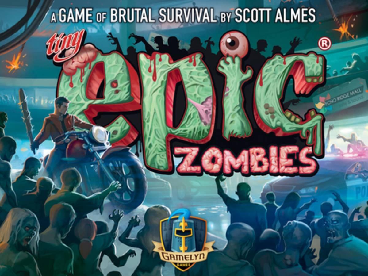 タイニー・エピック・ゾンビ(Tiny Epic Zombies)の画像 #42155 まつながさん