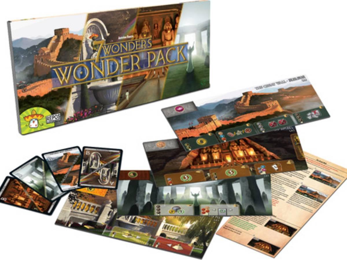 世界の七不思議:ワンダーパック(7 WONDERS: WONDER PACK)の画像 #31119 ままさん