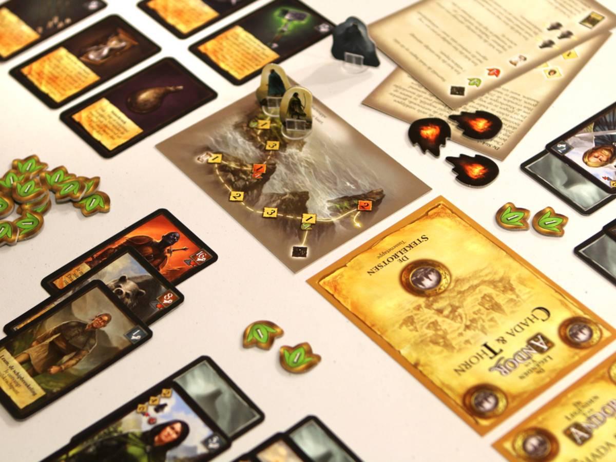 アンドールの伝説:災いの島の冒険(Die Legenden von Andor: Chada & Thorn)の画像 #34343 ボドゲーマ運営事務局さん
