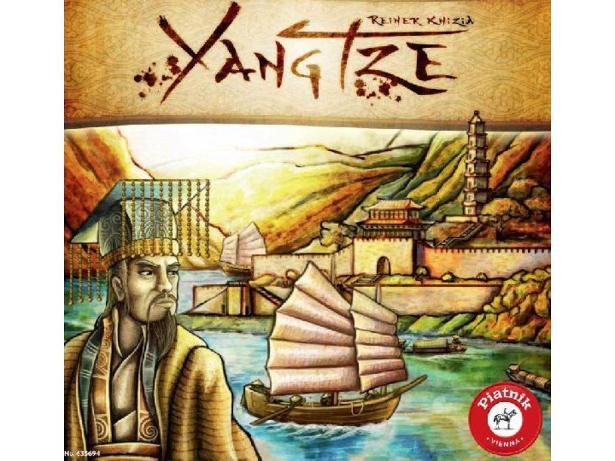 揚子江 / 長江 / 清王朝の豪商たち / ヤンツェ(Yangtze)の画像 #34308 ボドゲーマ運営事務局さん