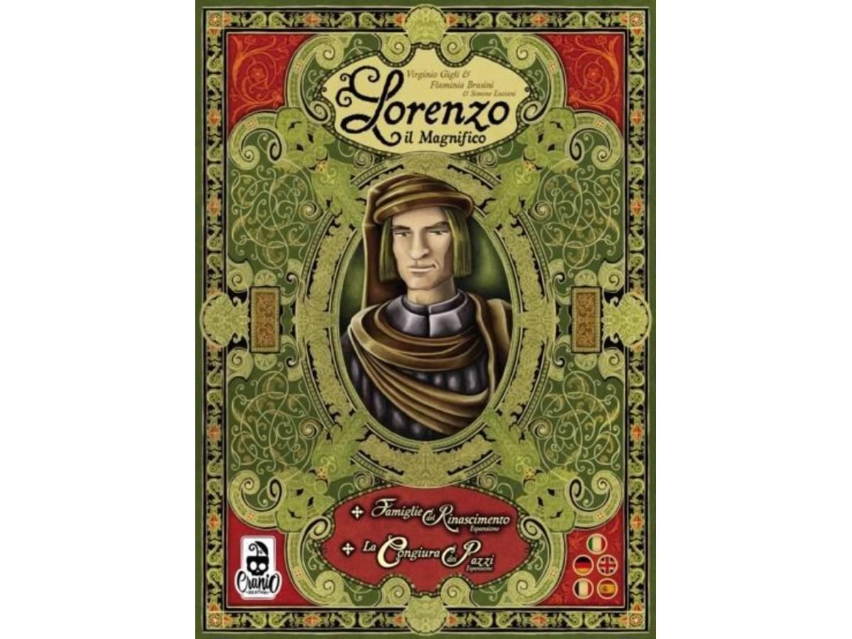 ロレンツォ・イル・マニーフィコ:拡張セット同梱版(Lorenzo il Magnifico: Big Box)の画像 #71346 まつながさん