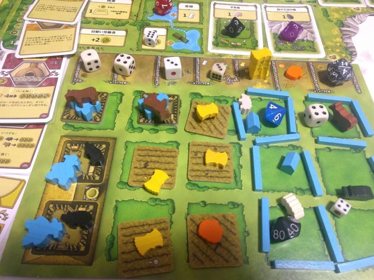 アグリコラ(Agricola)の画像 #58452 ボドゲを楽しむ会さん