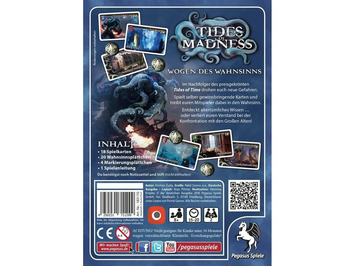 狂気の潮流 / タイズ・オブ・マッドネス(TIDES OF MADNESS)の画像 #33749 ボドゲーマ運営事務局さん