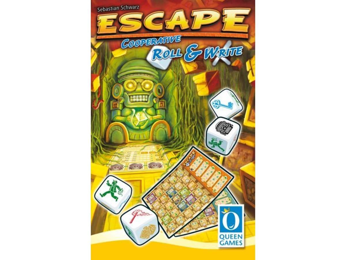 エスケープ:ロール&ライト(Escape: Roll & Write)の画像 #71875 まつながさん