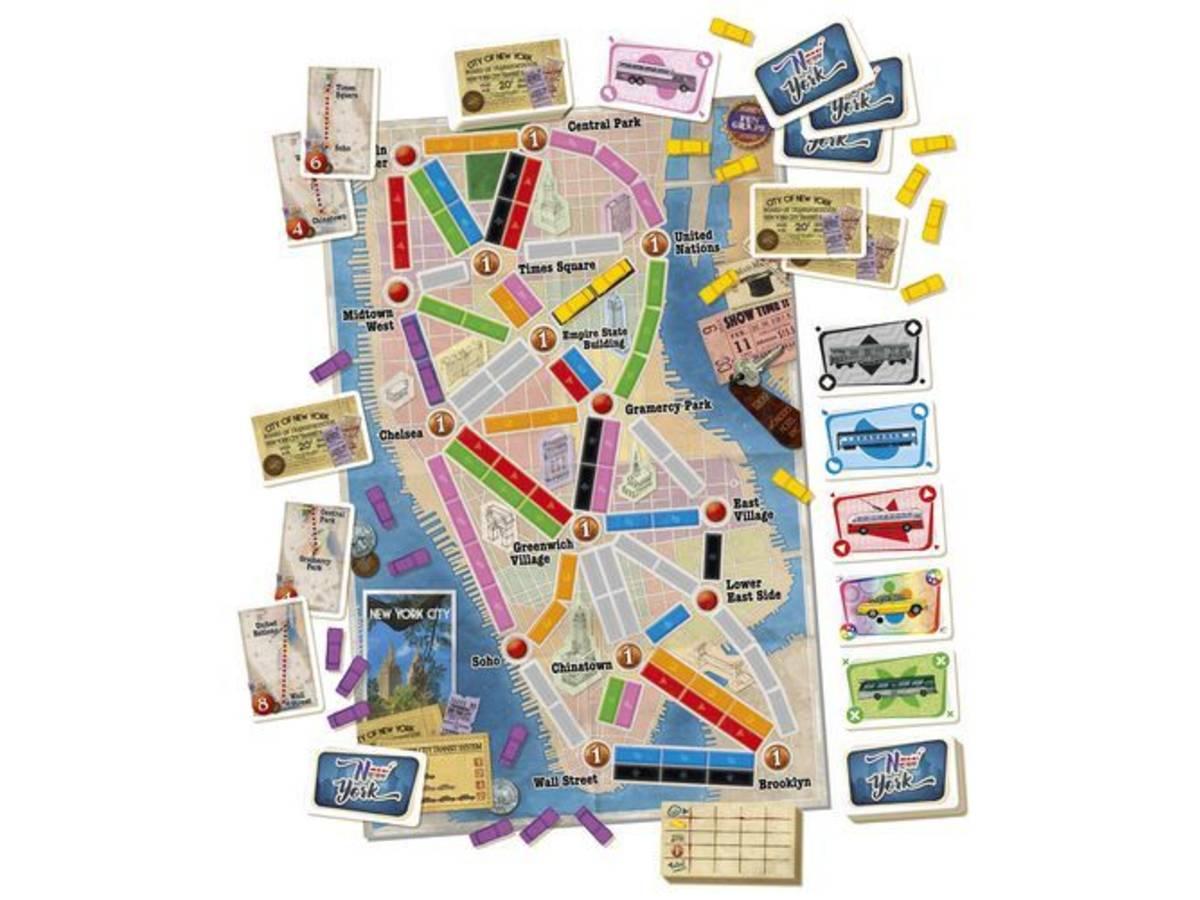 チケットトゥライド:ニューヨーク(Ticket to Ride: New York)の画像 #44684 まつながさん